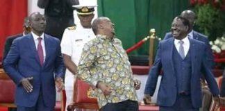 Uhuru at Bomas