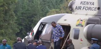 Uhuru at Sagana lodge