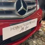 DRAMA at Citizen TV as married TV girl receives red Mercedes Benz from her sponsor as Valentine's Day gift (VIDEO)