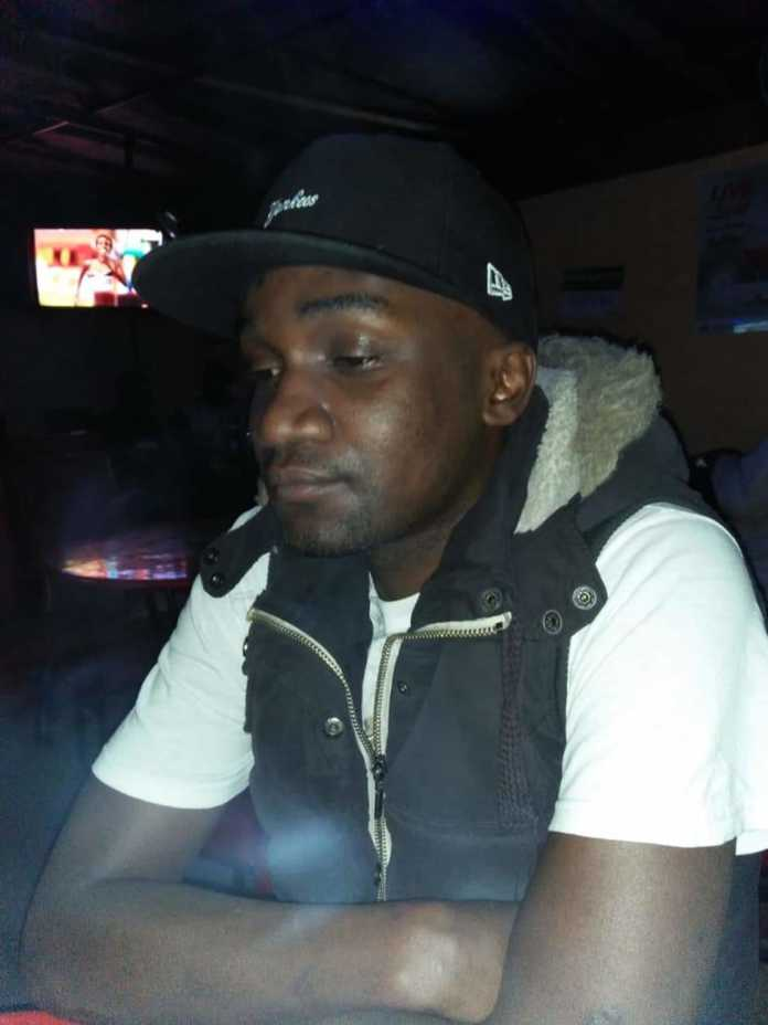 Edward Okello who is an engineer at the Jomo Kenyatta International Airport was stabbed on the chest by his girlfriend.