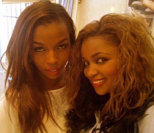 Tecra Muigai Karanja and sister Anerlisa Muigai