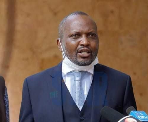 Moses Kuria resurfaces