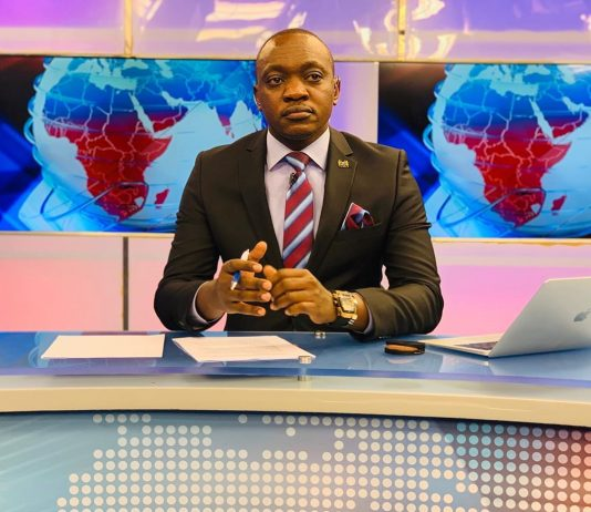 Former NTV news anchor Ken Mijungu