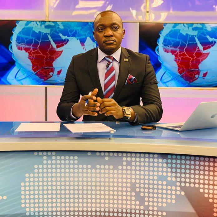 Former NTV news anchor Ken Mijungu