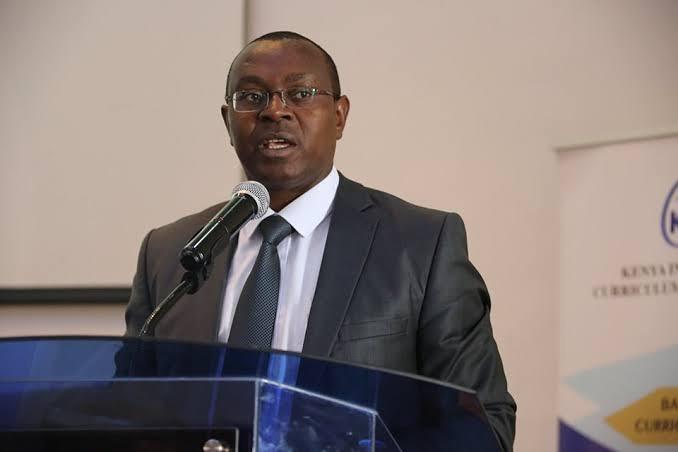 Dr. David Njeng'ere kabita CEO Kenya National Examinations Council (KNEC)