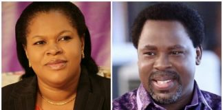 Evelyn, the wife of late TB Joshua